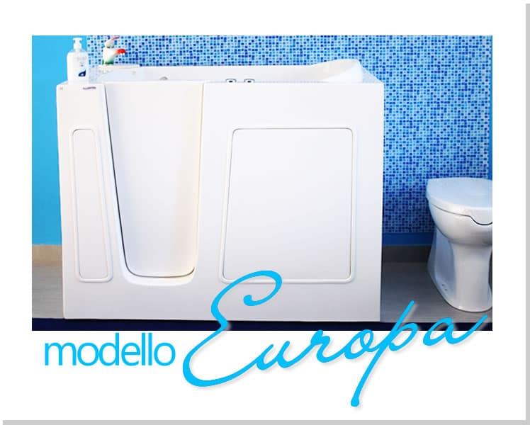 Vasca Modello Europa - Vasche da bagno con accesso facilitato per anziani e portatori di disabilità (3)