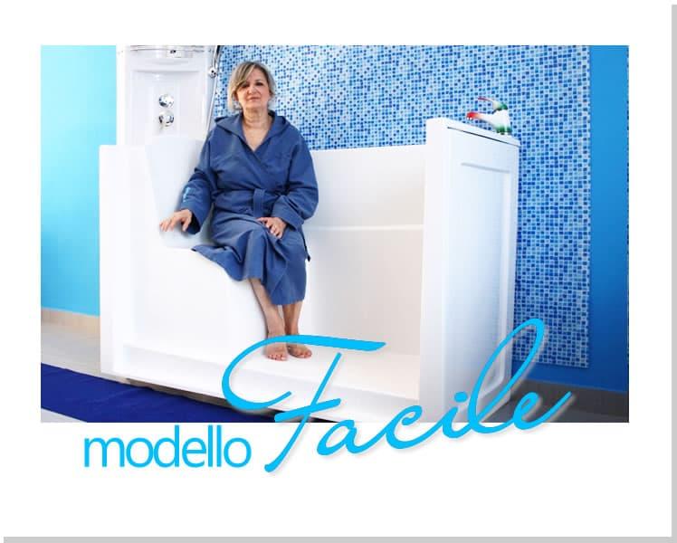 Vasca Modello Europa - Vasche da bagno con accesso facilitato per anziani e portatori di disabilità (1)