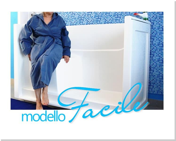 Vasca Modello Europa - Vasche da bagno con accesso facilitato per anziani e portatori di disabilità (2)