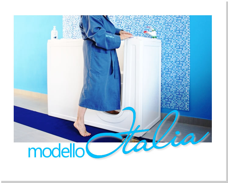 Guarda le foto della Vasca Modello Italia - Installazione anche a